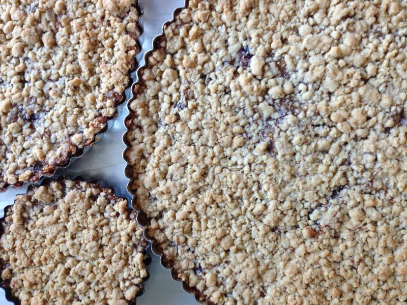 Nancy's giant home-made Fig Newtons.