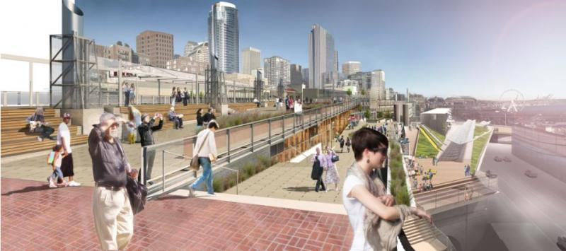 What the new promenade might look like