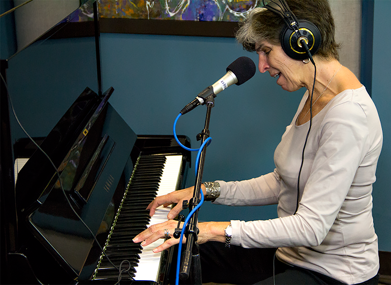 Marcia Ball performing live in the KPLU Seattle studios on August 27.