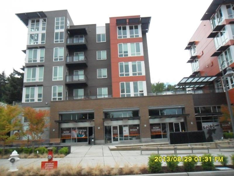 A mixed-use building in Mercer Island.