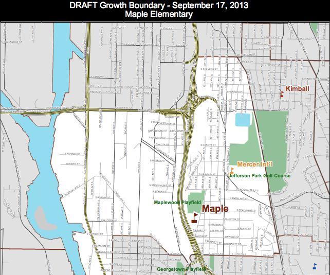 Georgetown Seattle Map.Seattle Schools Taking Public Input On Proposed Map Change Knkx
