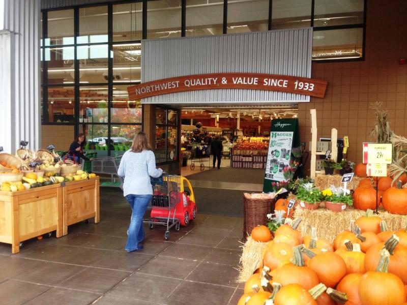 Washington grocers say Initiative 517 would infringe on their private property rights. Sponsors reject that claim.