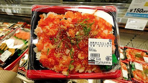 Shoppers at Costco in Japan can pick up sushi along with paper towels and detergent