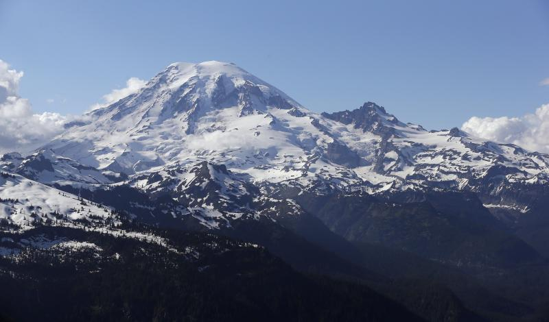 File image of Mount Rainier.