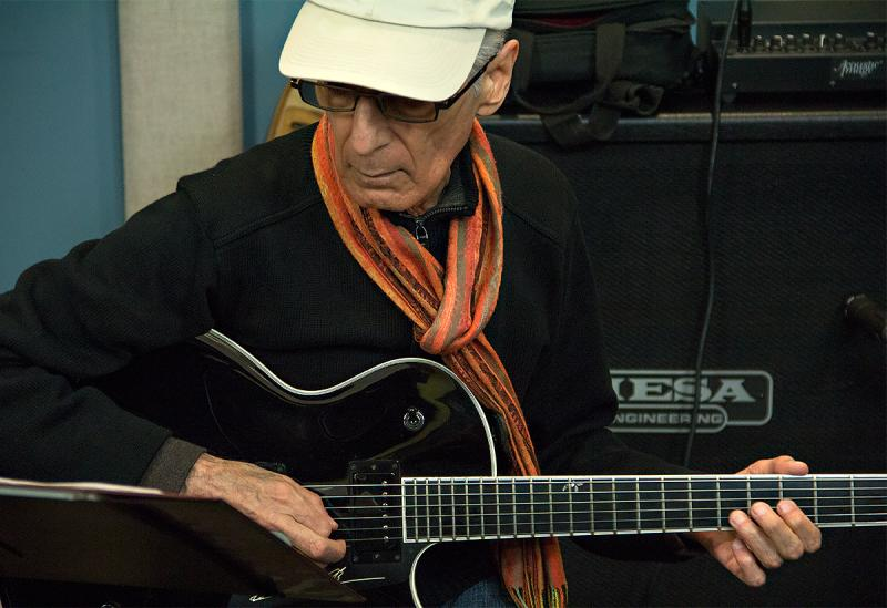 Pat Martino performing live in the KPLU Seattle Studios on October 11, 2013.