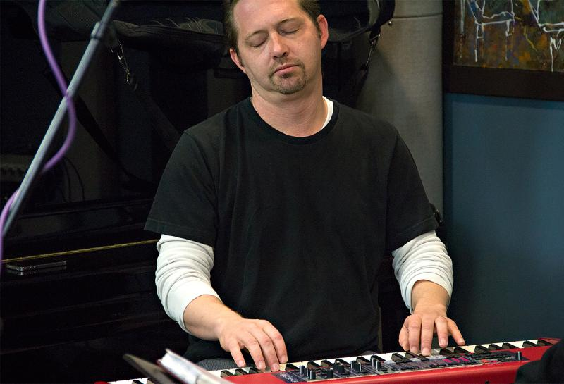 Pat Bianchi performing live in the KPLU Seattle Studios on October 11, 2013.