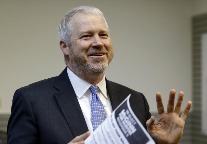 Mayor Mike McGinn prepares to concede his run for reelection.