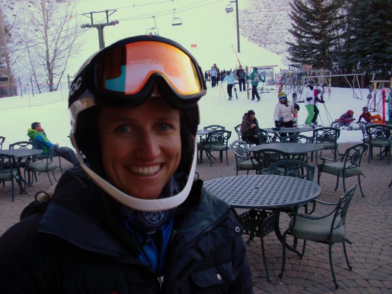 Slalom specialist Hailey Duke of Sun Valley, Idaho.