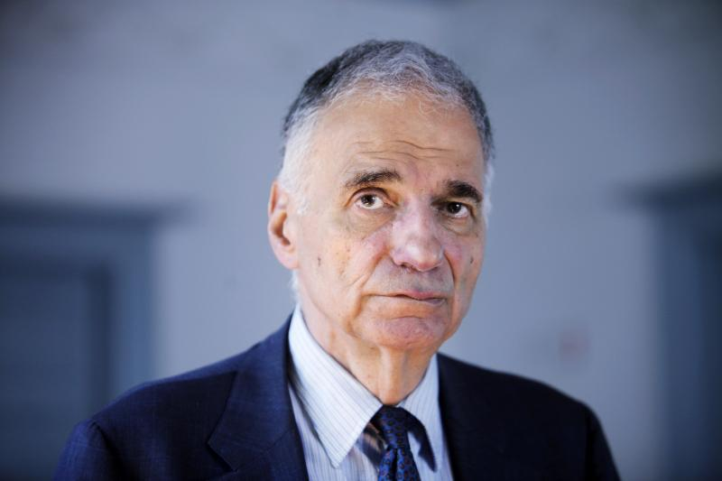 FILE - Ralph Nader is seen in Washington, on Thursday, Aug. 20, 2009.
