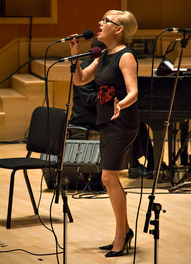 Cheryl Jewell performing live at the 2013 KPLU Christmas Jam.