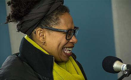 Rachelle Ferrell performing live in the KPLU Seattle studios.