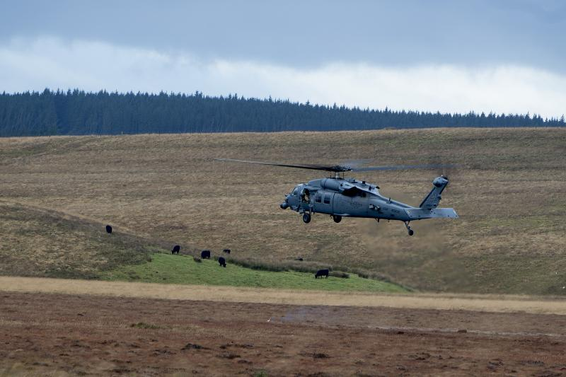 Pave Hawk helicopter.