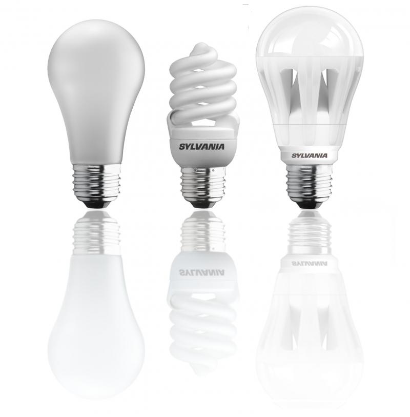 While a large majority still uses incandescent bulbs, 60 percent plan to switch to halogen, compact fluorescent (CFL) or light-emitting diode (LED) varieties.
