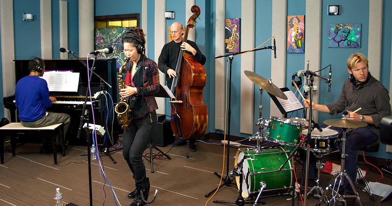 Grace Kelly and The Marc Seales Trio performing live in the KPLU Seattle studio on January 22, 2014.