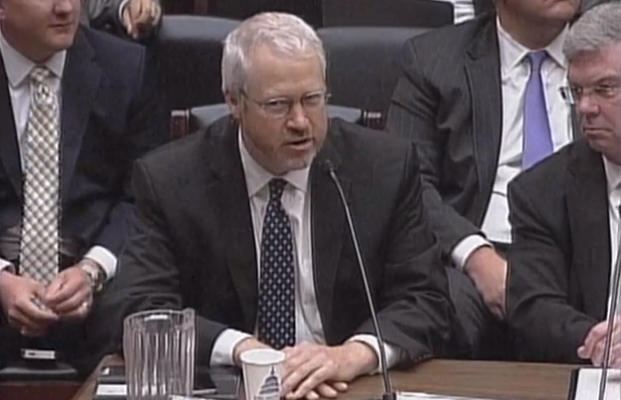This screen capture shows Seattle Mayor Mike McGinn.