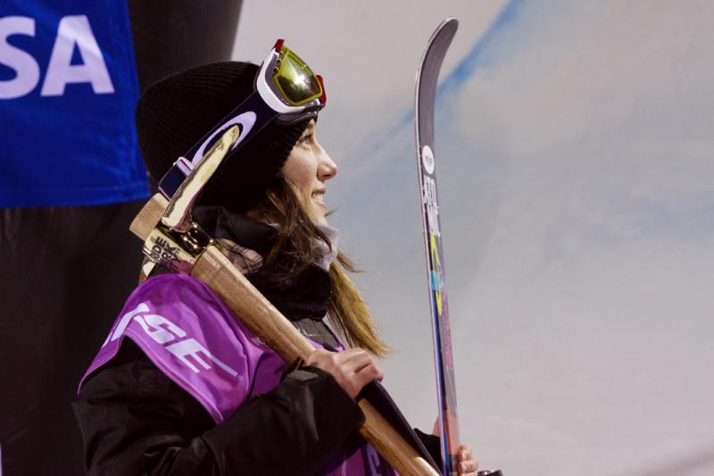 Angeli VanLaanen of Bellingham was named to the U.S. Olympic Team in ski halfpipe.