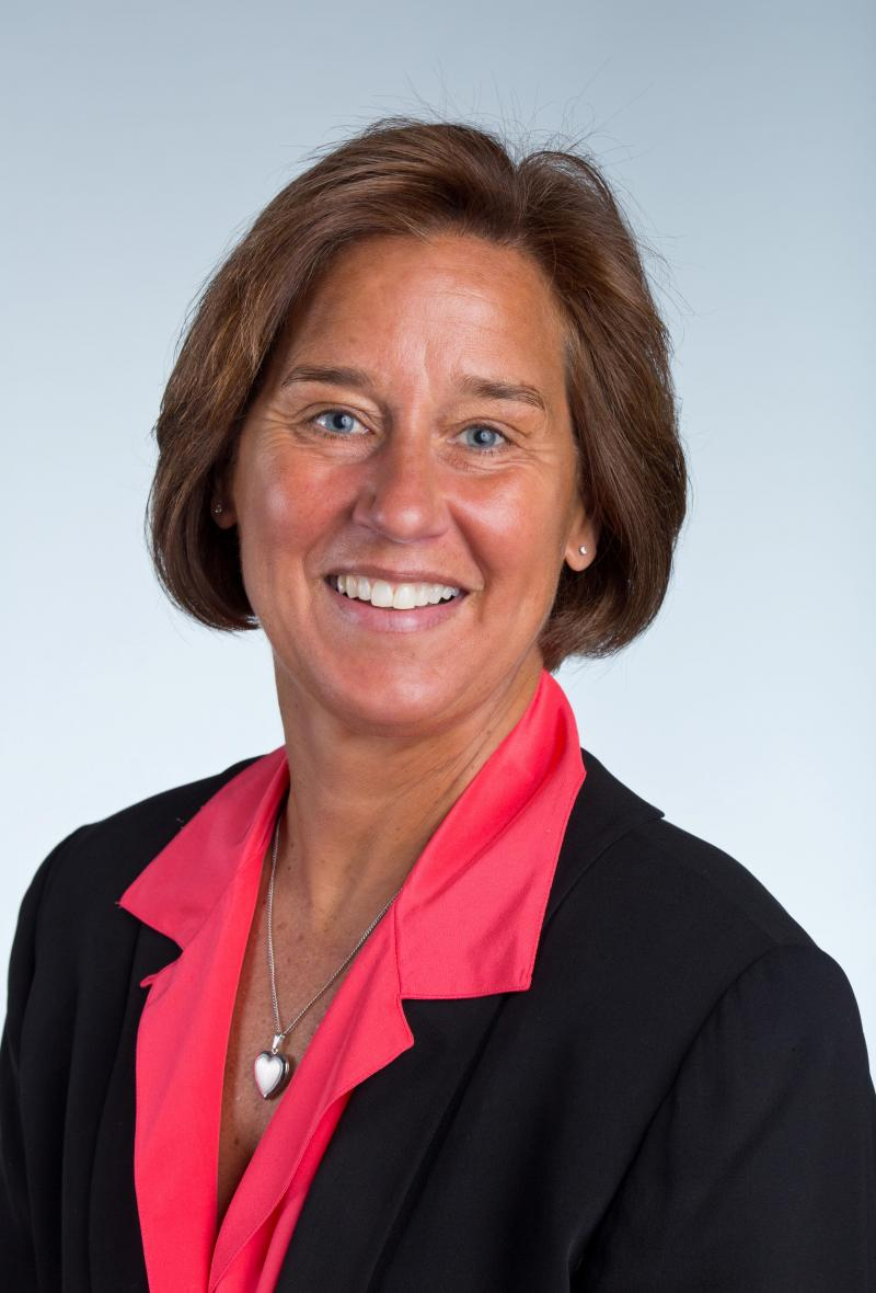 Dr. Colleen Hacker, PLU Professor and USA Hockey mental skills coach.