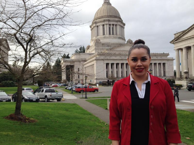 Dulce Siguenza is a 19-year old student at South Seattle Community College who had to drop out of the University of Washington because it was too expensive.
