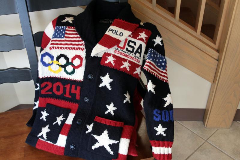 Wool from Oregon sheep was used to make the U.S. Olympic uniform sweater.