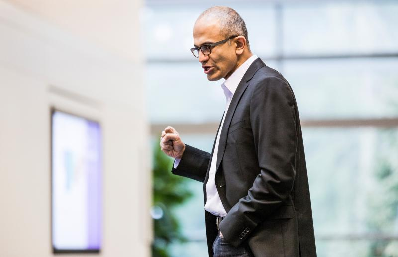 This undated photo provided by Microsoft shows Satya Nadella. Microsoft announced Tuesday, Feb. 4, 2014, that Nadella will replace Steve Ballmer as its new CEO.