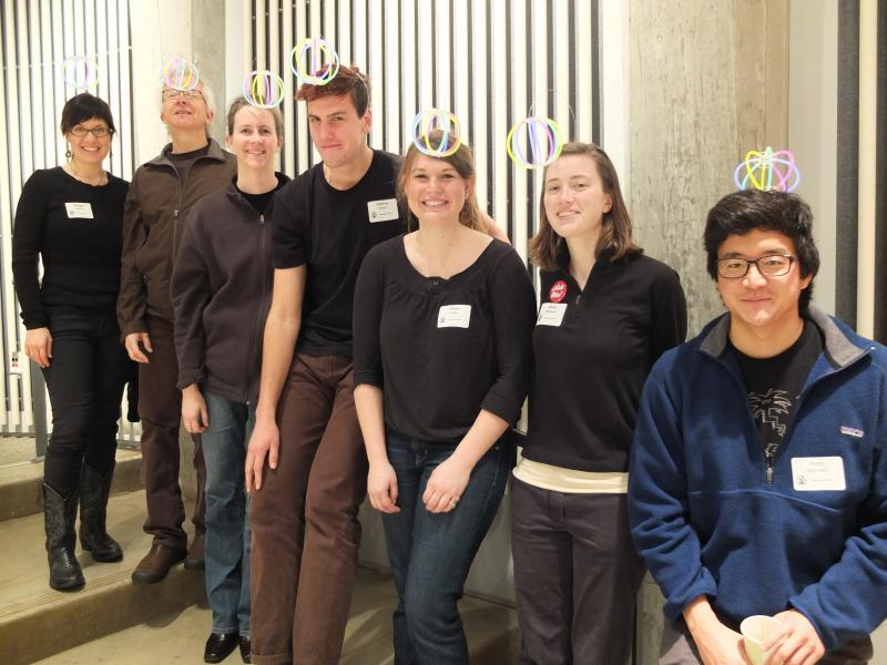 This Volunteer Official team dressed as anglerfish, at the Orca Bowl competition on the UW campus in 2013.