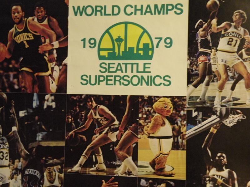 Sonics 1979 NBA Championship poster