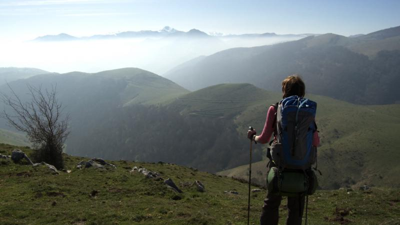 """It's like walking in a postcard,"" says an American woman in the film ""Walking the Camino: Six Ways to Santiago."""
