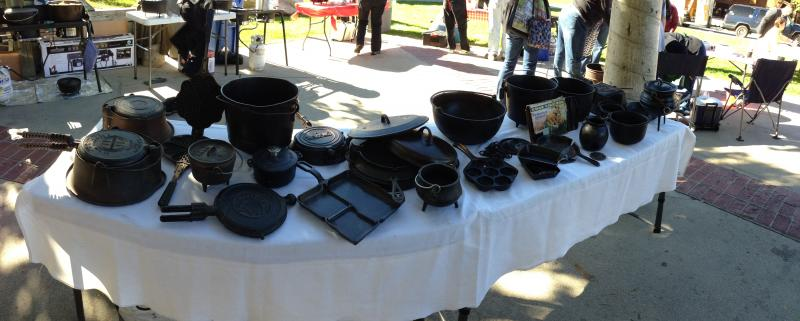 A nice selection from the International Dutch Oven Society exhibition in Salt Lake City