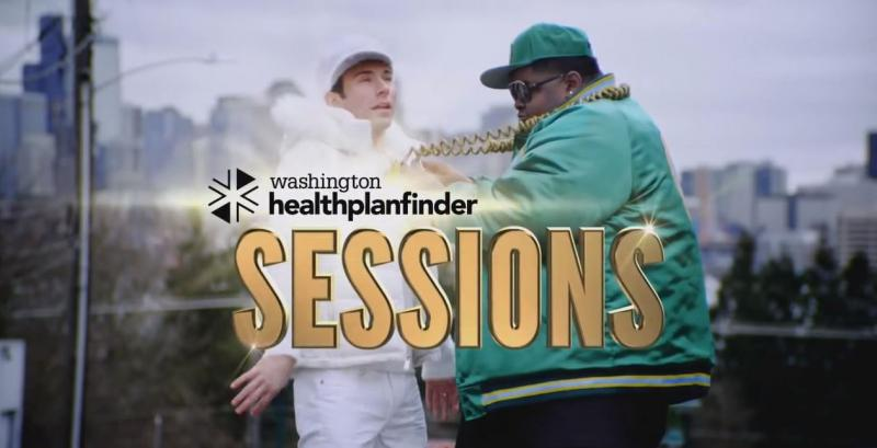 Ads from Washington's health exchange are urging people to get covered before the March 31 deadline.
