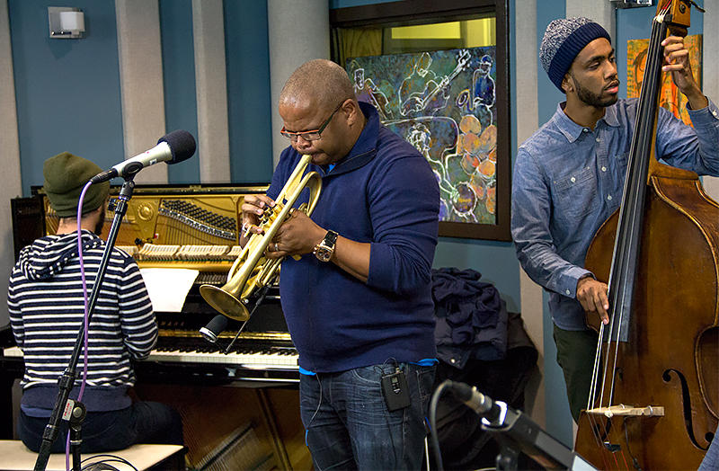 Terence Blanchard and his sextet performing live in the KPLU Seattle Studios.