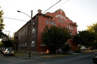 Washington Hall in Seattle's Central Area, as it looks today.