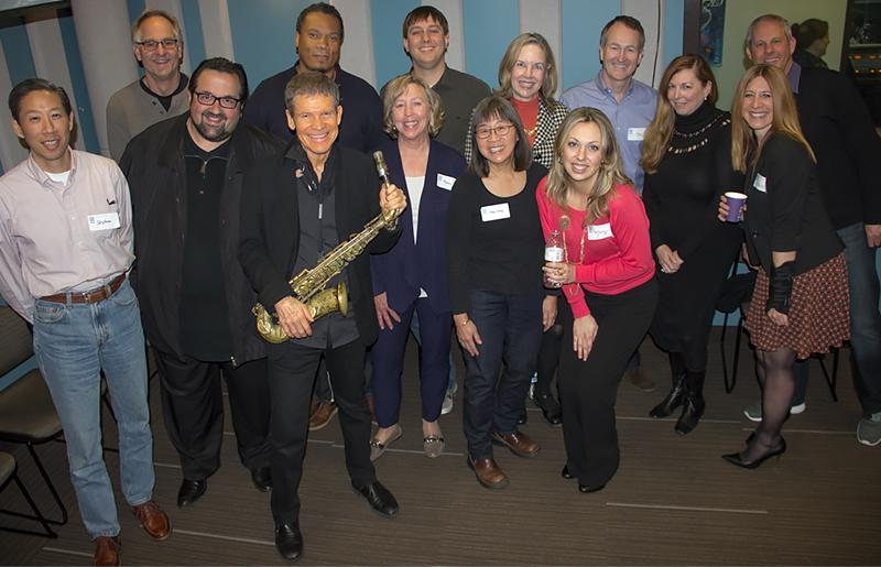 The David Sanborn Trio, joined by KPLU's Abe Beeson, and our studio audience of Leadership Circle Members.