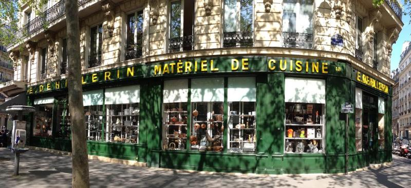 E. Dehillerin, a restaurant supply shop that's been in business in Les Halles since 1820. Yes, she bought stuff!