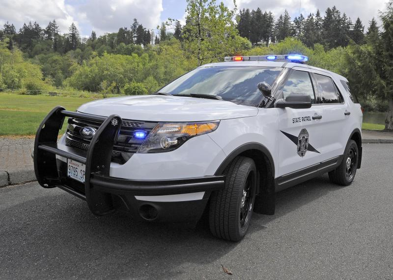 The Ford Interceptor is the Washington State Patrol's new vehicle of choice after a short and rocky experience with the Chevy Caprice.