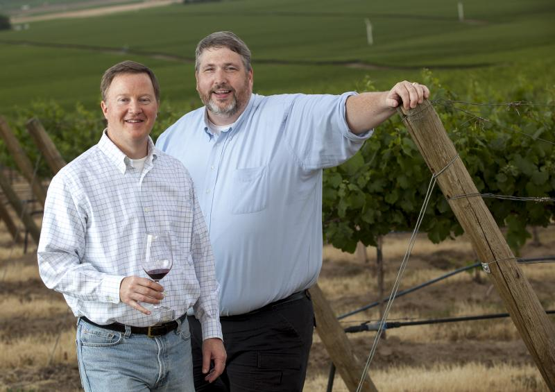 Eric Degerman and Andy Perdue edit Great Northwest Wine.