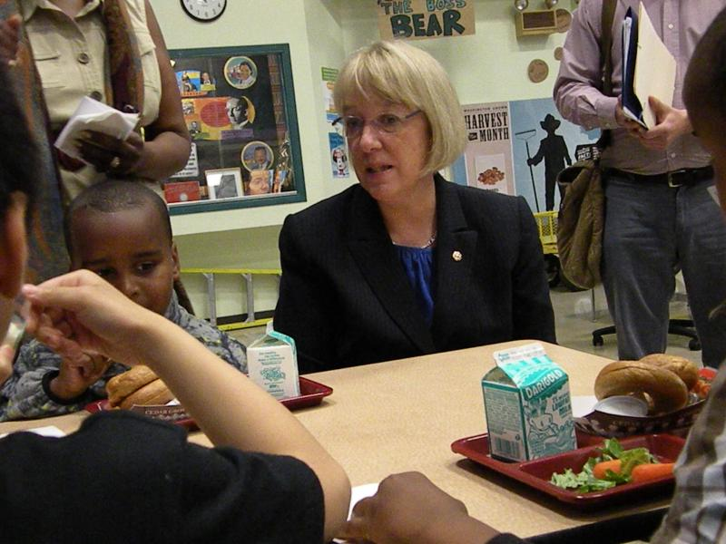 Sen. Patty Murray wants to give families debit cards to help feed qualifying students in the summer.