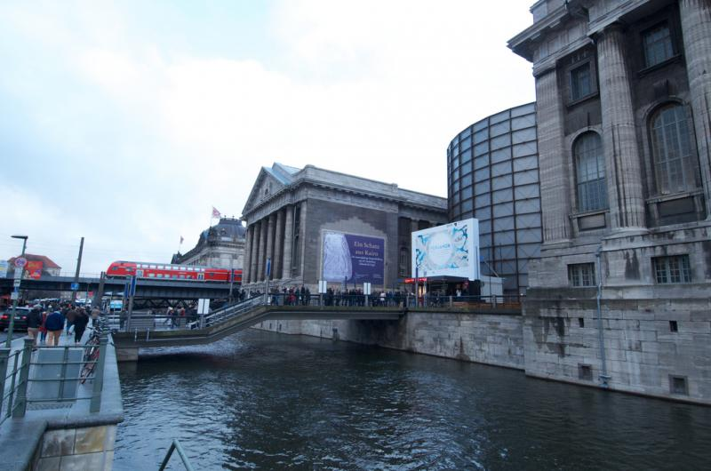 Museum Island is home to five museums and a host of antiquities.