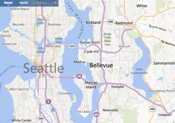 Worried About Landslides Seattle Has A Map For That KNKX - Seattle map with neighborhoods