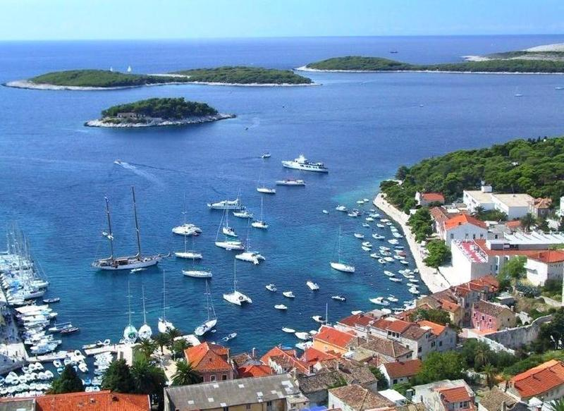 The island community of Hvar is a two-hour ferry ride from the city of Split, and our travel expert's favorite place in the former Yugoslavia.
