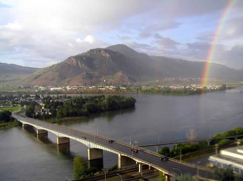 If you want to escape the coast, try heading inland to Kamloops.