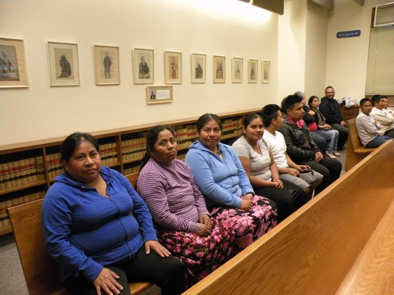 Berry pickers showed up in a Skagit County court as they brought a lawsuit against Sakuma Brothers Farms. They said the farm was trying to exclude them from work and instead bring in foreign guest workers under the H-2A program.