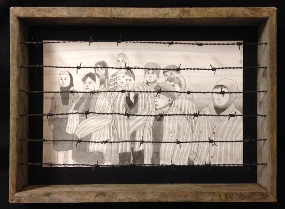 This piece by 7th grader Ethan Hunter of Spokane won his category in the Center's recent Holocaust Writing, Art and Digital Media Contest.
