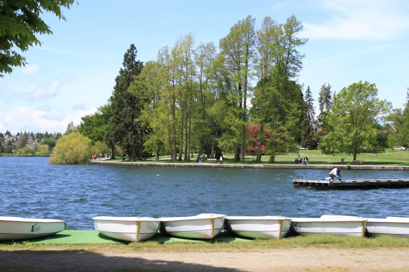 Green Lake Park in Seattle