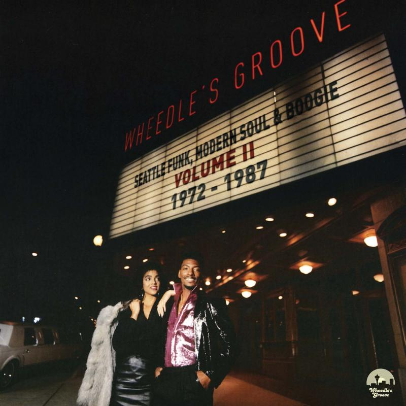 "Cover art for the 1987 LP ""Our Night Out"" by Romel Westwood,  one of the musicians featured on ""Wheedle's Groove: Seattle Funk, Modern Soul & Boogie Volume II 1972-1987"""