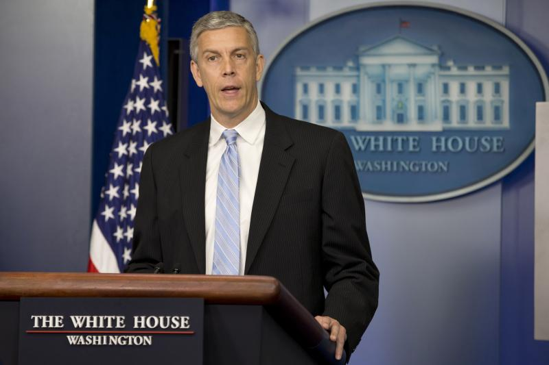 Seattle education officials have asked U.S. Secretary of Education Arne Duncan, pictured, to grant the district a waiver from the No Child Left Behind law. It's not clear how open federal officials will be to Seattle's request.