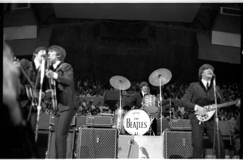 As part of their first U.S. tour, The Beatles performed at Seattle Center Coliseum on August 21, 1964.