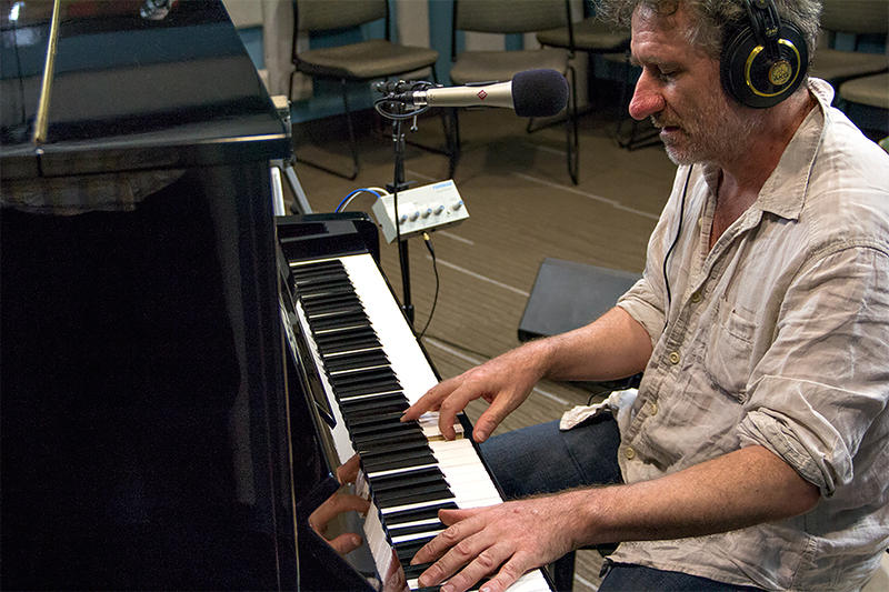 Jon Cleary performing live in the KPLU Seattle studios on August 12, 2014.