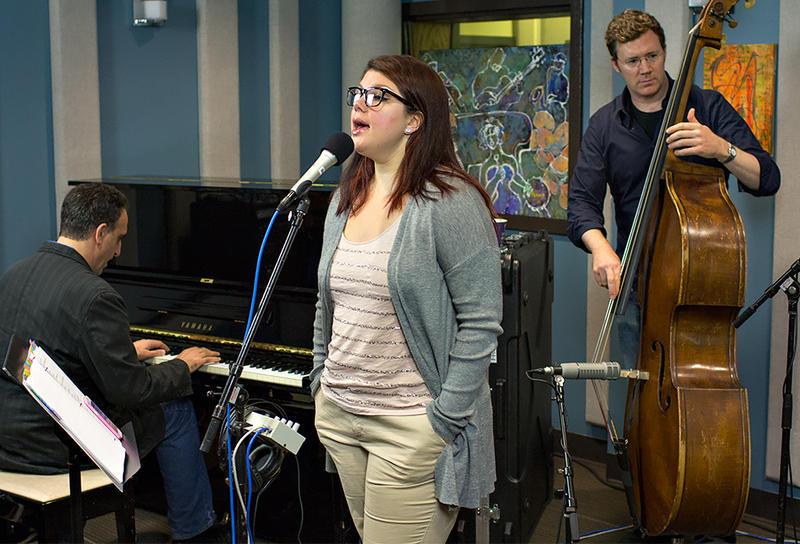 Jane Monheit performing live in the KPLU Seattle studios.
