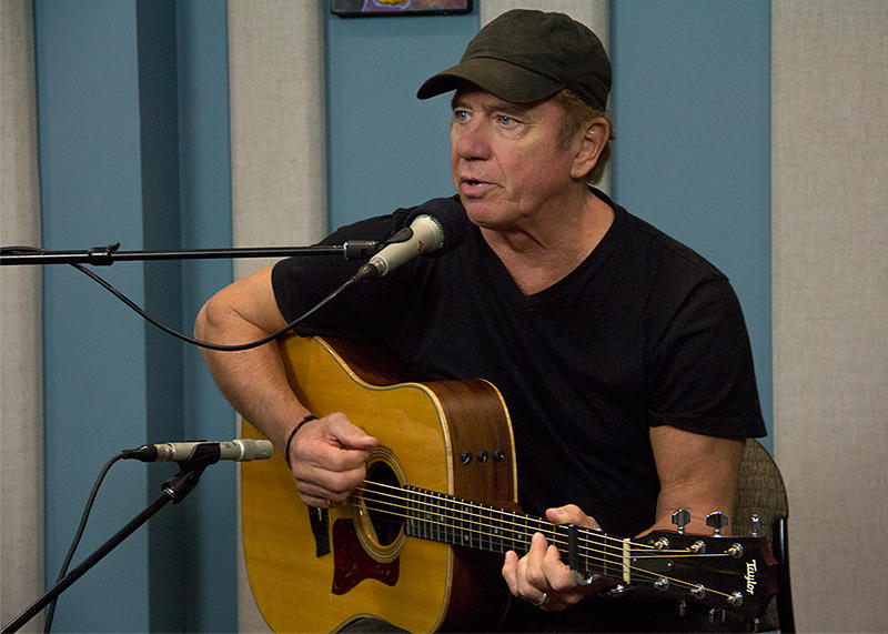 Tom Wopat live in the KPLU Seattle studios.