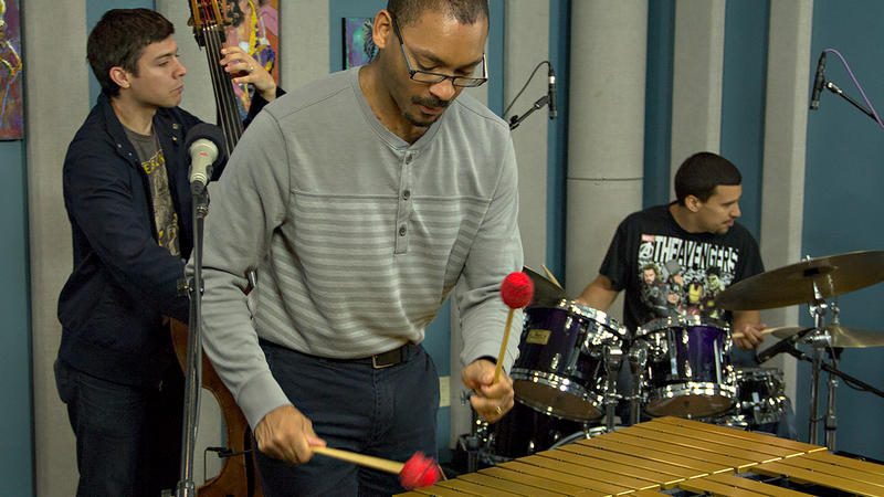 Jason Marsalis and The 21st Century Trad Band perform live in the KPLU Seattle studios.